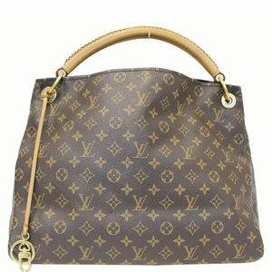 LOUIS VUITTON Artsy  Monogram Canvas Shoulder Bag